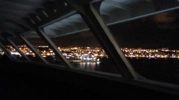Sur le pont avant.