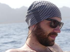 Portrait Pierre-Luc arrivée au Cap-vert