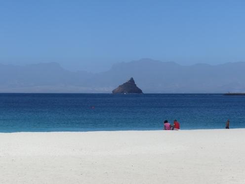Superbe plage de sable blanc